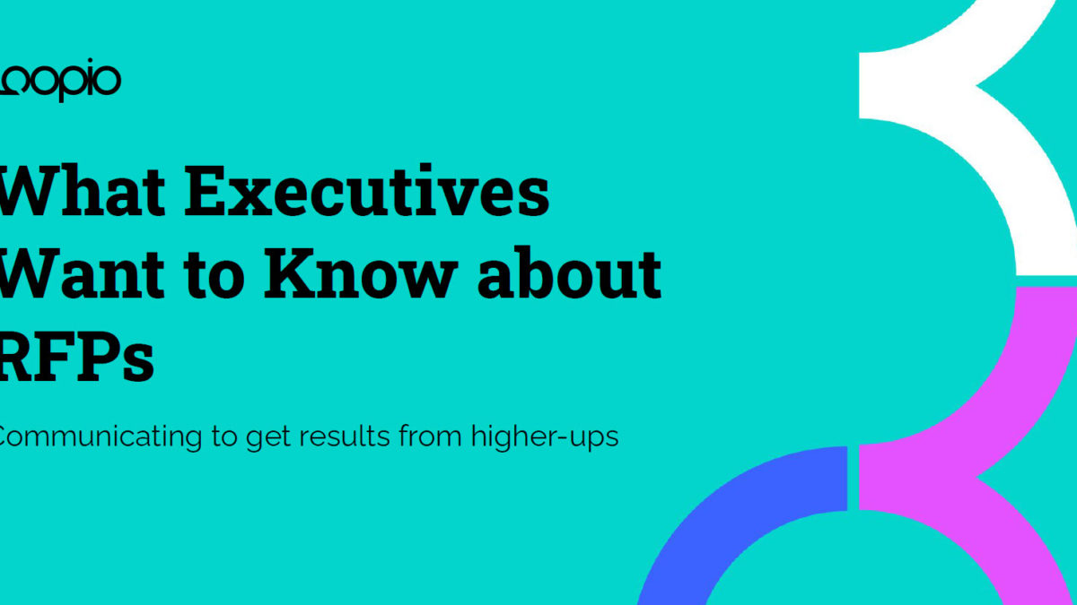 What Executives want to Know about RFPs